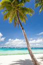 Idyllic tropical scene boracay philippines Royalty Free Stock Image