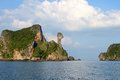 Idyllic view of island in krabi thailand Stock Photos