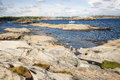 Idyllic view from rock on the sea of beautiful verdens ende world s end or end of earth is located at southernmost tip of Stock Images