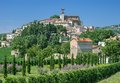Idyllic village in umbria italy near assisi Royalty Free Stock Images