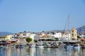 Ierapetra harbour, Crete. Royalty Free Stock Photo
