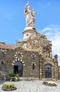 Iew of Saint Joseph de Bon Espoir Espaly statue Royalty Free Stock Photo