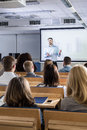 If a class is interesting everybody pays attention Royalty Free Stock Photo