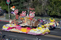If pigs could fly Rose Parade float Royalty Free Stock Photo