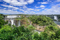 Igauzu waterfall brazil the in Stock Images