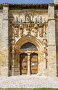 Iglesia de santa maria la real sasamon spain unesco the pilgrim s road to santiago compostela Royalty Free Stock Photos