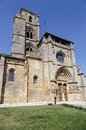 Iglesia de santa maria la real sasamon spain unesco the pilgrim s road to santiago compostela Stock Photos
