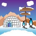 Igloo Royaltyfria Bilder