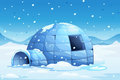 Igloo Royalty Free Stock Photography