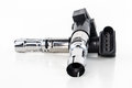Ignition coils on a white background Royalty Free Stock Photo