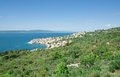 Igrane makarska riviera dalmatia croatia village of at near brela in croatian adriatic sea Royalty Free Stock Photo