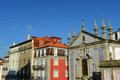 Igreja de são nicolau porto portugal this church is built in th century in both baroque and classic style old city is Royalty Free Stock Images