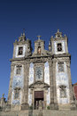 Igreja de sto ildefonso church in porto portugal Stock Photography