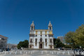 Igreja do carmo famous bone chapel portugal faro algarve Royalty Free Stock Photo