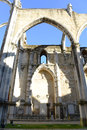 Igreja do Carmo, Lisbon, Portugal Royalty Free Stock Photo