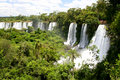 Iguacu Waterfall Royalty Free Stock Images