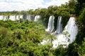 Iguacu Waterfall Royalty Free Stock Images