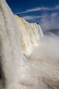 Iguassufalls iguassu falls close up brazil Stock Photo