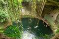 Ik-Kil Cenote Fotografía de archivo libre de regalías