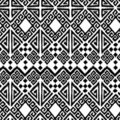 Ikat geometric Royalty Free Stock Photography