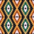 Ikat ornament Stock Photos