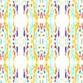 stock image of  Ikat seamless geometric pattern shibori surface