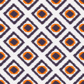 Ikat seamless pattern for web design or home decor beautiful Royalty Free Stock Image