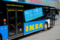 Ikea bus Stock Photo