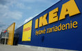 Ikea slovakia in bratislava furniture and home store sign furnishings sale Royalty Free Stock Image