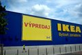 Ikea slovakia in bratislava furniture and home store sign furnishings sale Stock Image