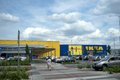 Ikea slovakia in bratislava zebra crossing furniture and home store sign furnishings sale Stock Images
