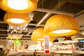 Ikea store in chengdu lamps is a swedish furniture is a multinational private home supplies retail business has stores many Royalty Free Stock Photo