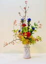Ikebana. Flower arrangement Royalty Free Stock Photo