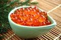 salmon caviar, Ikura Royalty Free Stock Photo
