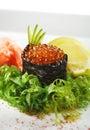 Ikura Sushi Royalty Free Stock Photo