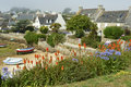 Ile de batz in brittany near roscoff Stock Photo