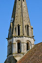 Ile de france jambville church in les yvelines the Royalty Free Stock Image