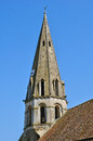 Ile de france jambville church in les yvelines the Royalty Free Stock Photo