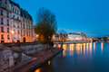 Ile de la cite paris france in Royalty Free Stock Photography