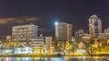 Illuminate the city Royalty Free Stock Photo