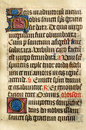 Illuminated Manuscript Stock Photography