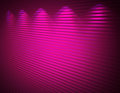 Illuminated pink violet wall, background Royalty Free Stock Photos