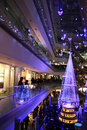 Illumination light showing in the winter at ometosando tokyo japan november on november Stock Image