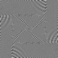 Illusion of rotation movement abstract op art background vector Royalty Free Stock Photo