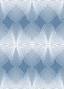 Illusive abstract seamless pattern with geometric figures. Vecto