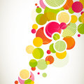 Illustration abstract colorful background Royalty Free Stock Photo