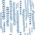 Leaf up down seamless pattern