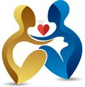 Affection pregnant woman logo