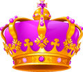 Illustration beautiful magic crown Royalty Free Stock Photo