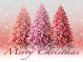 Illustration  Christmas landscape Royalty Free Stock Images